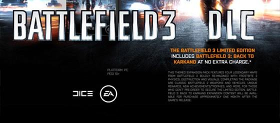 Battlefoeld 3 - DLC