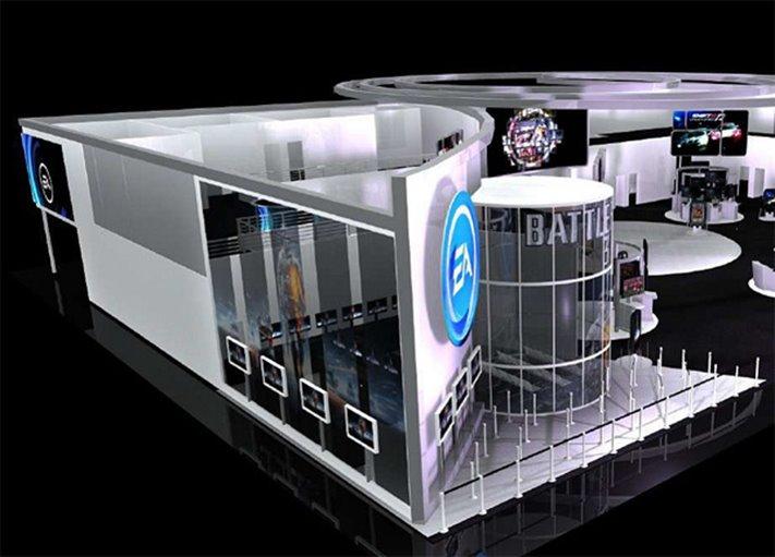 Стэнд Battlefield 3 на E3 2011