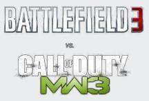 Battlefield 3 против Call of Duty 3