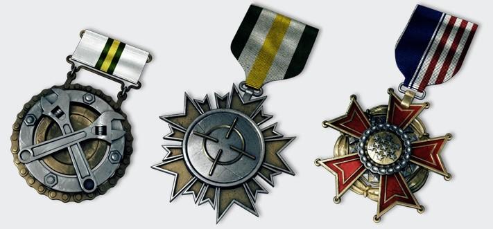 Медали Battlefield 3