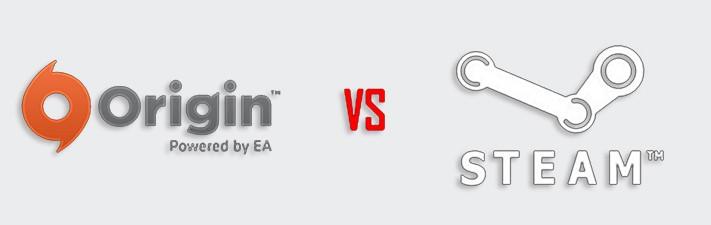 Origin против Steam