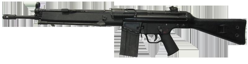 Оружие в Battlefield 3: Штурмовые винтовки